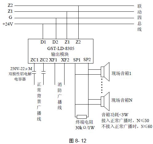 gst-ld-8305 型输出模块-海湾消防维修|海湾消防设备