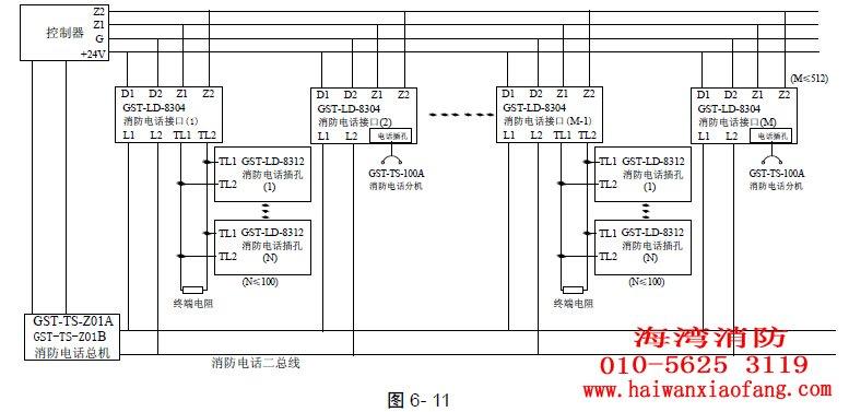 系统接线图如图6-    所示.